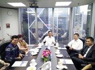 热烈欢迎浙江省乐清市领导一行莅临瑞丰德永香港总部参观指导